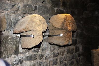 Frammenti di statue stele