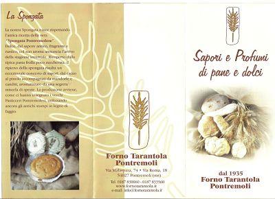 Un B&B in Lunigiana, l'Eremo Gioioso, in cui si servono prodotti a km 0: la spongata di Tarantola