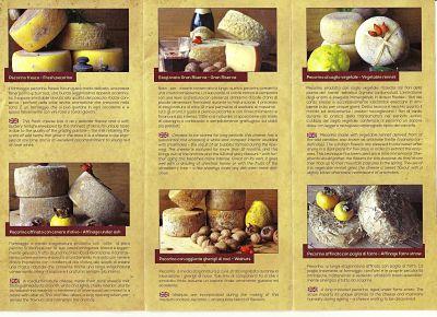 Un B&B in Lunigiana in cui si servono prodotti a km 0: i formaggi del gradile
