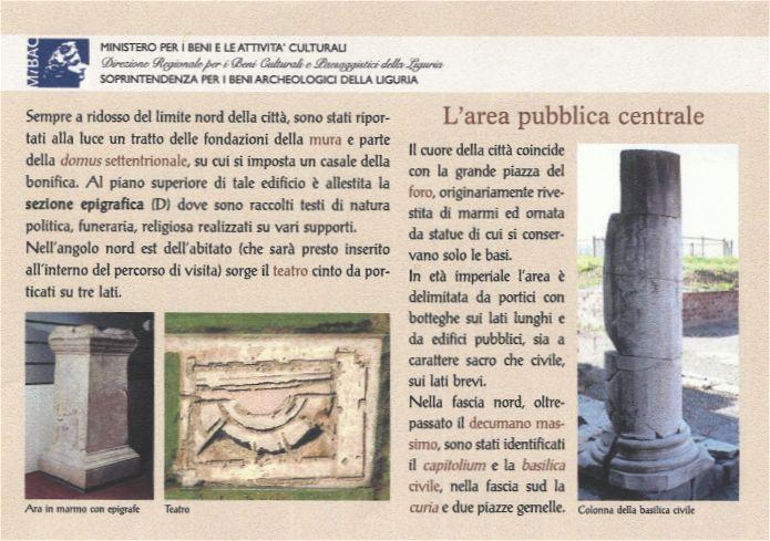L'antico insediamento romano riemerso dagli gli scavi di Luni