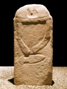 statua stele gruppo A