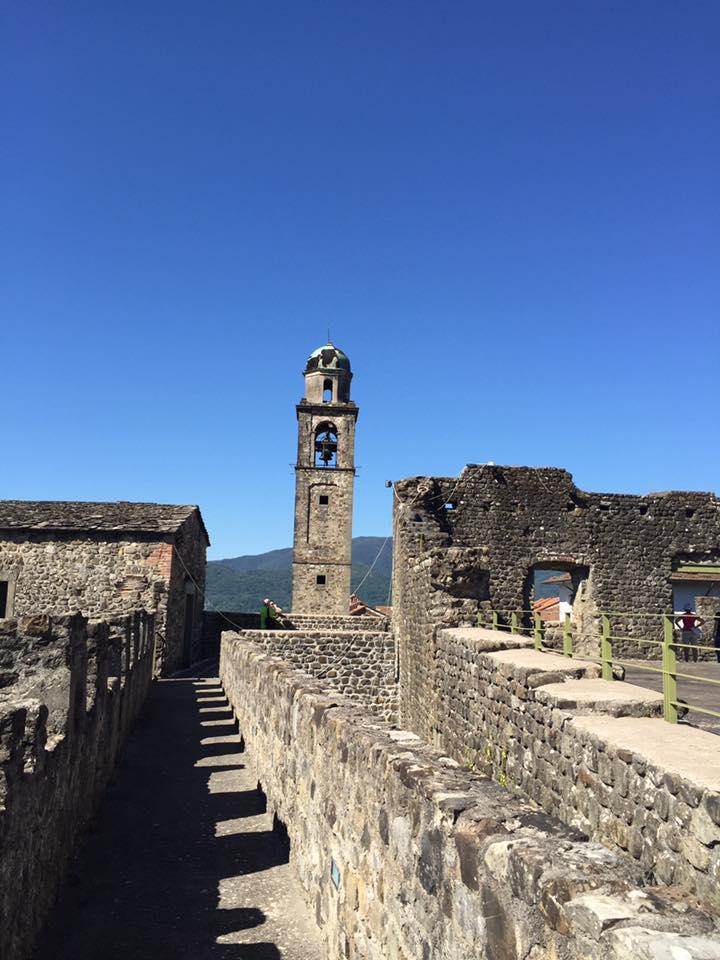 Castello di Malgrate: camminamenti di ronda