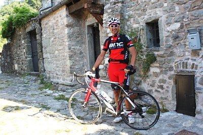 Giancarlo: un simpatico ospite giunto in bicicletta al B&B EREMO GIOIOSO