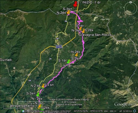 percorso ufficiale Via francigena in bicicletta