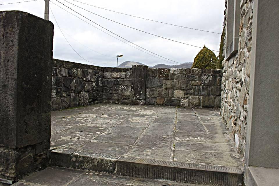 casa in Lunigiana: la terrazza