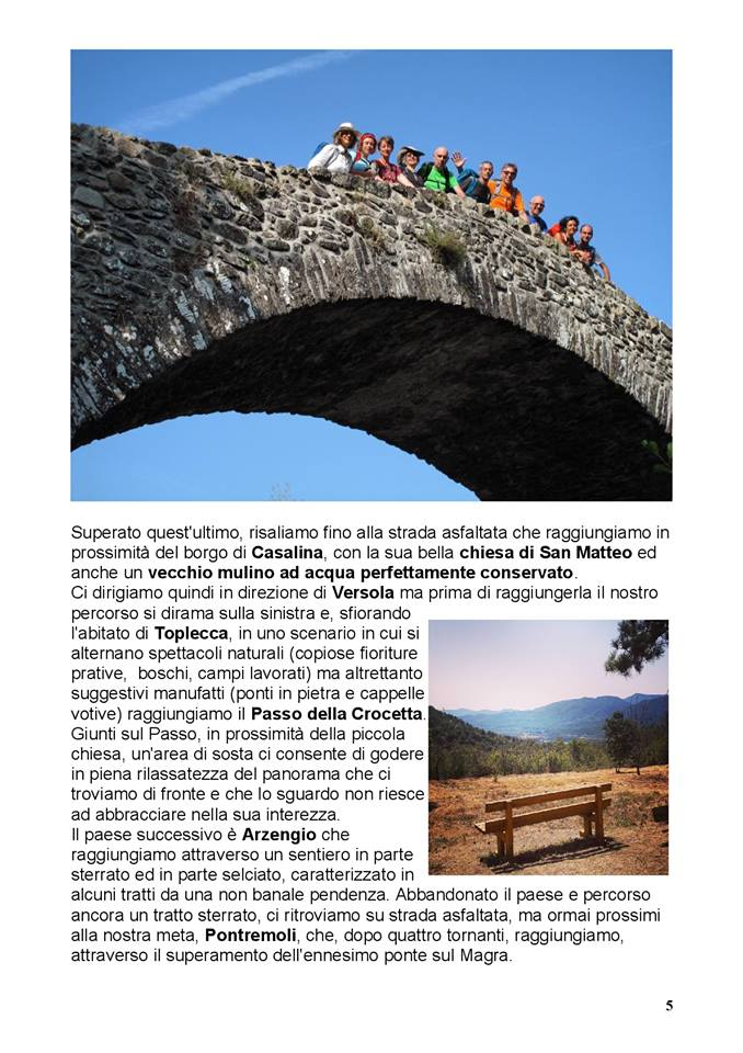 Via Francigena: il ponte medievale di Groppodalosio